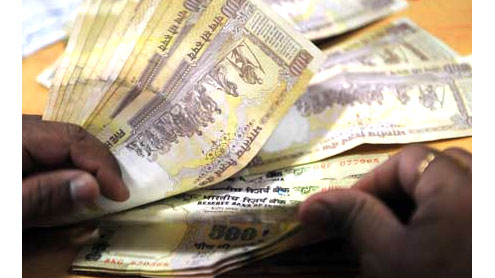 Indian rupee hits record low
