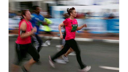 Marathons could damage heart