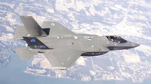 US Lockheed Martin F-35 chosen as Japan fighter jet