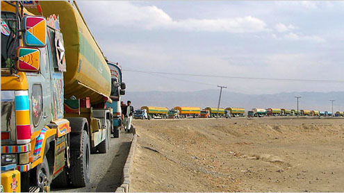 Transporters, drivers favour anti-Nato stand