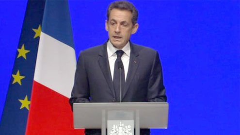Sarkozy: France Germany ties key to eurozone stability