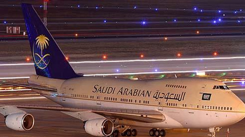 Saudi jet makes emergency landing