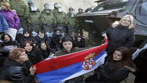 Serbia and Kosovo border agreement