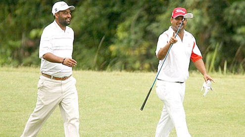 Shabbir in forefront at Pakistan Open Golf Championship