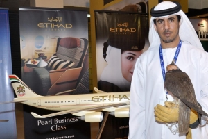 UAE Expo - a visitor from UAE