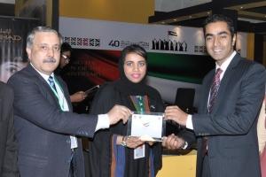 UAE Expo - presentation at stall
