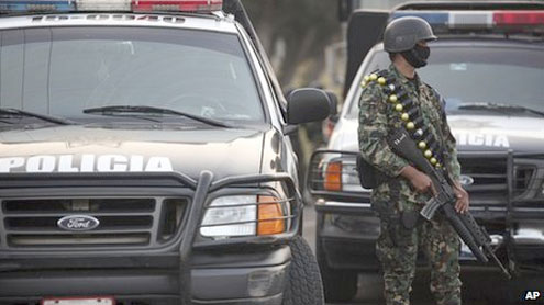 Mexico disbands Veracruz-Boca del Rio police force