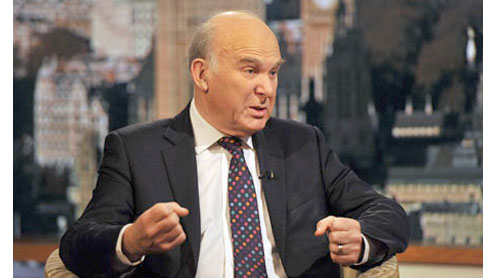 Vince Cable attacks 'whingeing' City