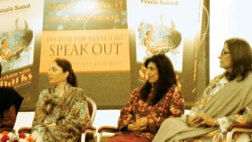 First copy of Dr Fouzia Saeed's book sold for Rs 125,000