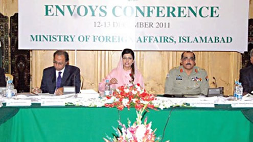 Envoys set to stamp 'new policy'