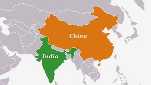 India and China, the new Great Game