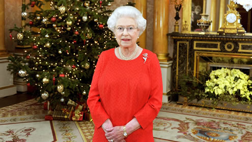 Queen speaks of hope