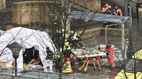 Gunman turns Belgian Christmas market into bloodbath