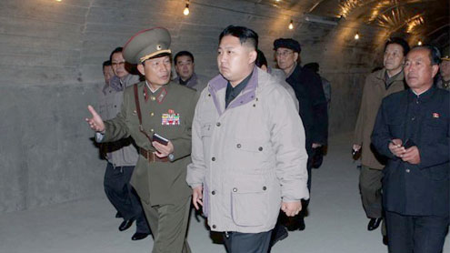 North Korea's military to share power with Kim's heir