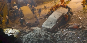 Building collapses in center of Rio de Janeiro