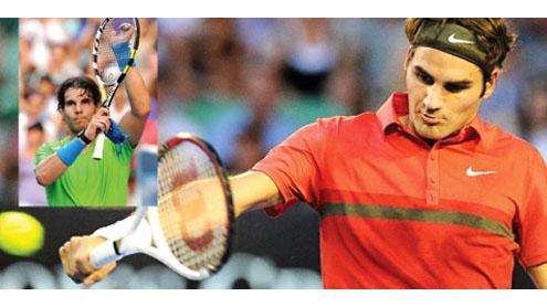 Federer and NadalNadal