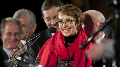 Giffords quits Congress to focus on recovery