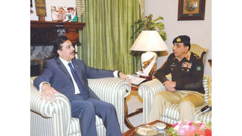 Army chief, PM discuss security