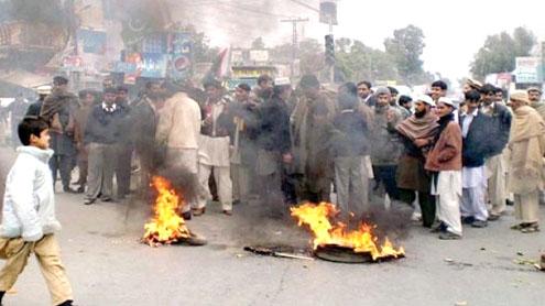 Hazara province: KKH blocked in support of demands