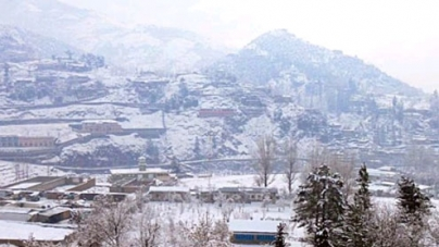 As rain turns to snow, K-P and FATA turn white