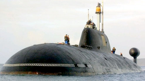 India new nuclear submarine