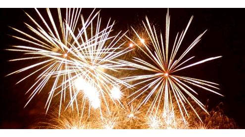 Bullets mark New Year's eve