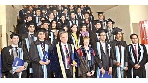 Pakistani graduates students in British Council