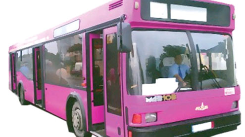 Pink Bus Service: Three women-only buses launched
