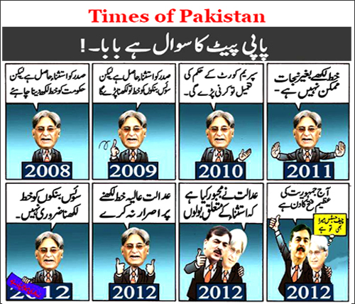 Political oops by Timesofpakistan