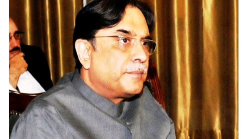 President Asif Zardari