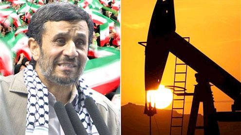President Mahmoud Ahmadinejad and Iranian oil