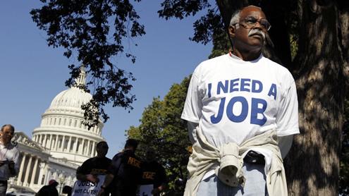 Unemployment near three-year low