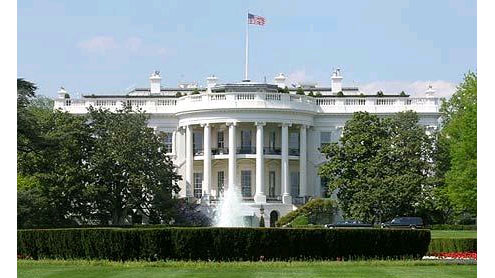 White House locked down after 'smoke bomb' thrown over fence