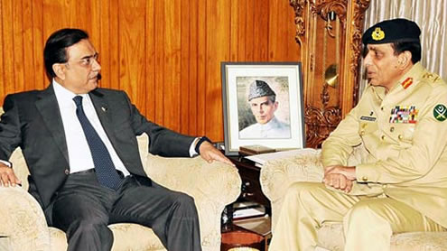 Zardari and Kayani