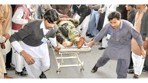 18 killed in blast at Khanpur Shia procession