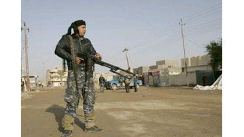 Wave of attacks as gunmen storm Iraq police station