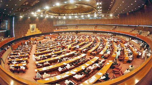 Noisy National Assembly session expected today