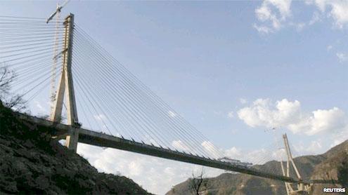 worlds tallest Baluarte Bridge