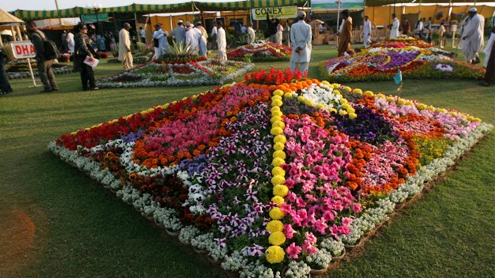 61st Pakistan Flower Show opens at Sea View