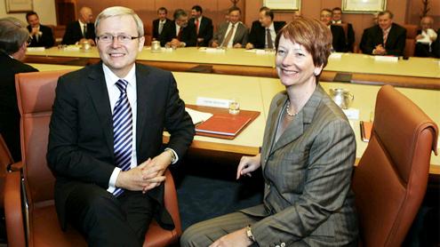 Australia looks on aghast as vicious leadership struggle erupts