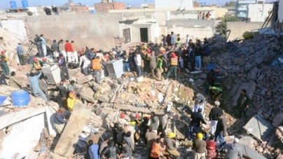 Collapsed building: Hopes fade for five still trapped under debris