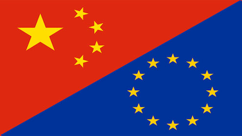 EU leaders in China