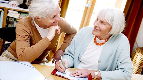 Elderly told: go back to work and downsize