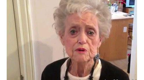 Grandma Dance To Whitney Houston