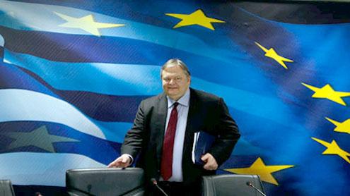 Greek finance minister Evangelos Venizelos