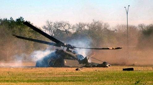 Guatemalan helicopter crash kills 10