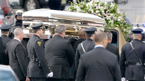 Whitney Houston laid to rest at private NJ burial