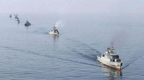 Iranian naval ships
