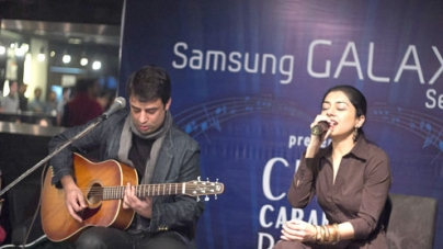 Club Caramel in Collaboration with Samsung launched their brand new song: Deewana!