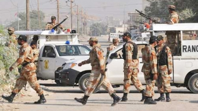 Rangers nab 40 suspects in targeted raids